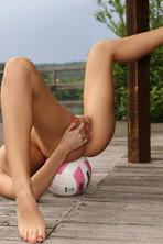 Sapphira Spreads Her Legs Outside 11