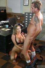 Office Slut Samantha Saint 14