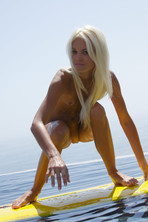 Francesca Surfing Naked 06