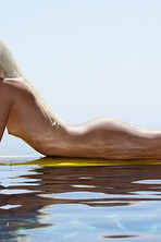 Francesca Surfing Naked 12